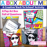 All About Me Back to School Pop Art Box & Task Cards