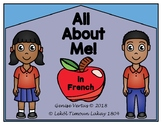 All About Me! Back-to-School Writing Activity (French)