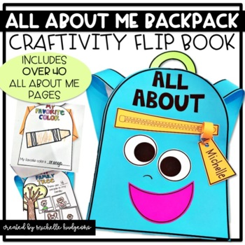 All About Me | All About Me Backpack Flip Book