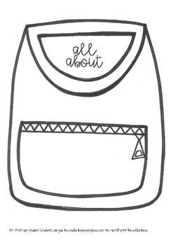 All About Me Backpack