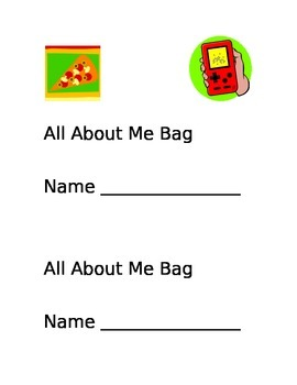 All About Me Bag-FREE