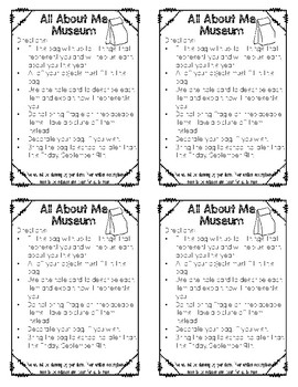 All About Me Bag Museum Directions