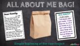 All About Me Bag Printable