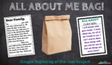 All About Me Bag Printable