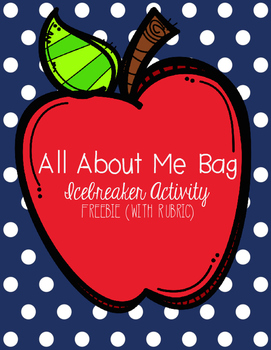 All About Me Bag (with rubric)