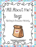All About Me Bags - Back to School
