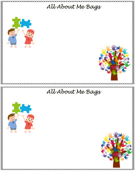 All About Me Bags Home Note