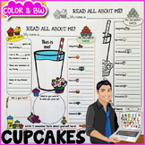 Cupcake All About Me Poster