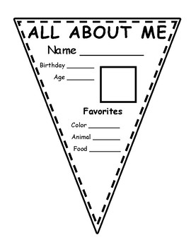 All About Me Banner {FREE}