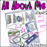 All About Me Banners