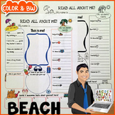 Beach All About Me Poster