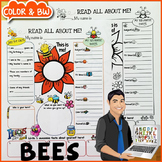 Bees All About Me Poster