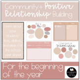 All About Me- Beginning of Year Community+ Relationship building