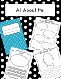 All About Me Beginning of the Year Writing Activity