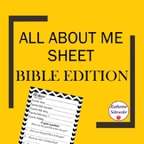 All About Me Bible Edition