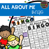 All About Me Activities- Bingo