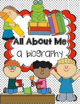 All About Me Biography Outline