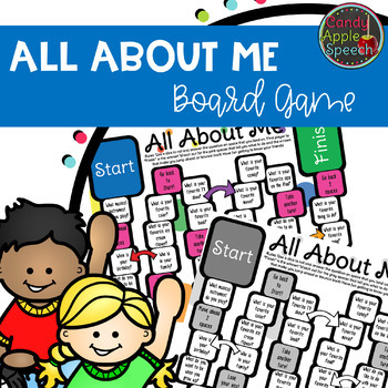 All About Me- Board Game