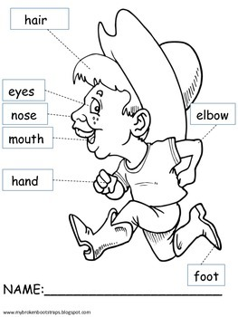 All About Me Body Parts Activity