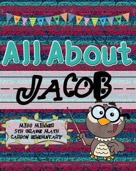 All About Me Book!