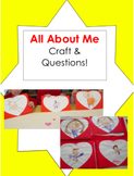 All About Me Book/ Questionnaire Packet