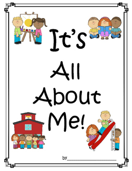 Back to School - Writing Project - All About Me Book