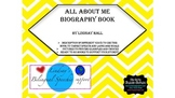 All About Me Biographical Book