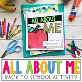 All About Me Book: A fun back to school activity to get to know your students
