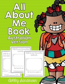All About Me Book {Australian Version}