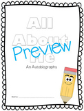 All About Me Book - An Autobiography or Personal Narrative