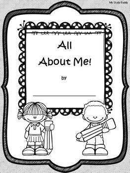 All About Me Book (All About Me Activities)