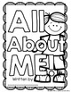All About Me Book and Task Cards - Back to School