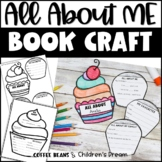 All About Me Book | Back to School Craft | Cupcake Craftivity