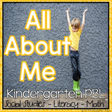 All About Me (Book Buddies) Project Based Learning Unit for Kindergarten-Fifth