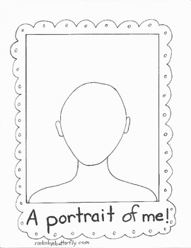 Superb image throughout all about me book preschool printable