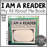 All About Me Book: I am a Reader: Back to School