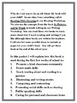 All About Me Book Parent Informational Packet