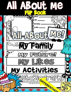 All About Me Seuss Book