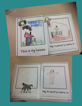 All About Me Book- First Week of School