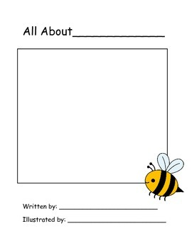 All About Me Book Template by Brittany Papuzza | TpT