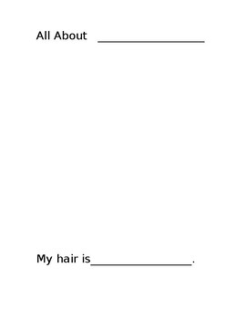 All About Me Book Template by Engaging Academics | TpT