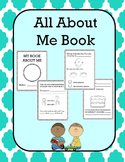 All About Me Book Worksheets