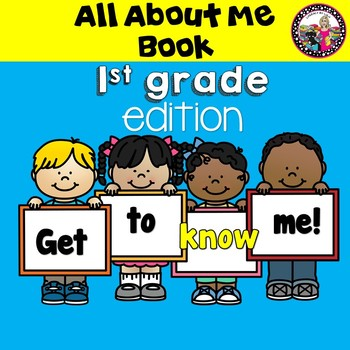 All About Me!  Book for First Graders!  Beginning of the Year!!