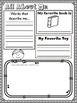 All About Me Activities - Open House Journal