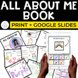 All About Me Book for Special Education