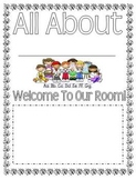 All About Me Book (possible for Open House)