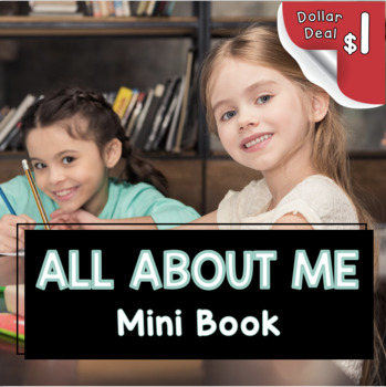 All About Me Book - writing a complete sentence - mini books personal narrative