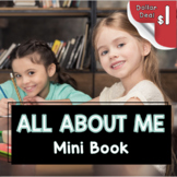 All About Me Book - writing a complete sentence - mini boo