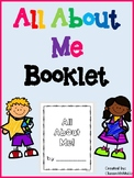 All About Me Booklet (Writing for Back to School or End of Year)