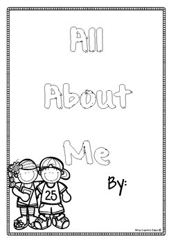 #ausbts18 All About Me Booklet